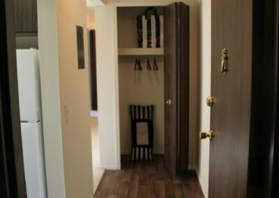 Closet in hallway of Fountain Park Apartment